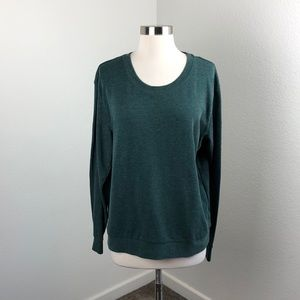 Divided by H&M basic hunter green sweater